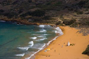 Gozo Red Sand Beach