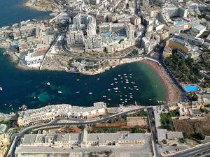 Saint Julians Malta , Resort Information Map and accommodation