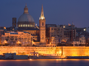 Valletta Church Steeples