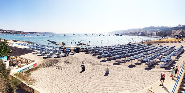 Ghadira Beach Malta North