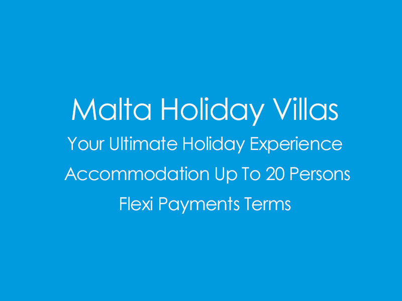 View All Malta Villas
