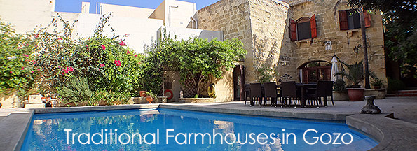 Gozo Farmhouses For Rent