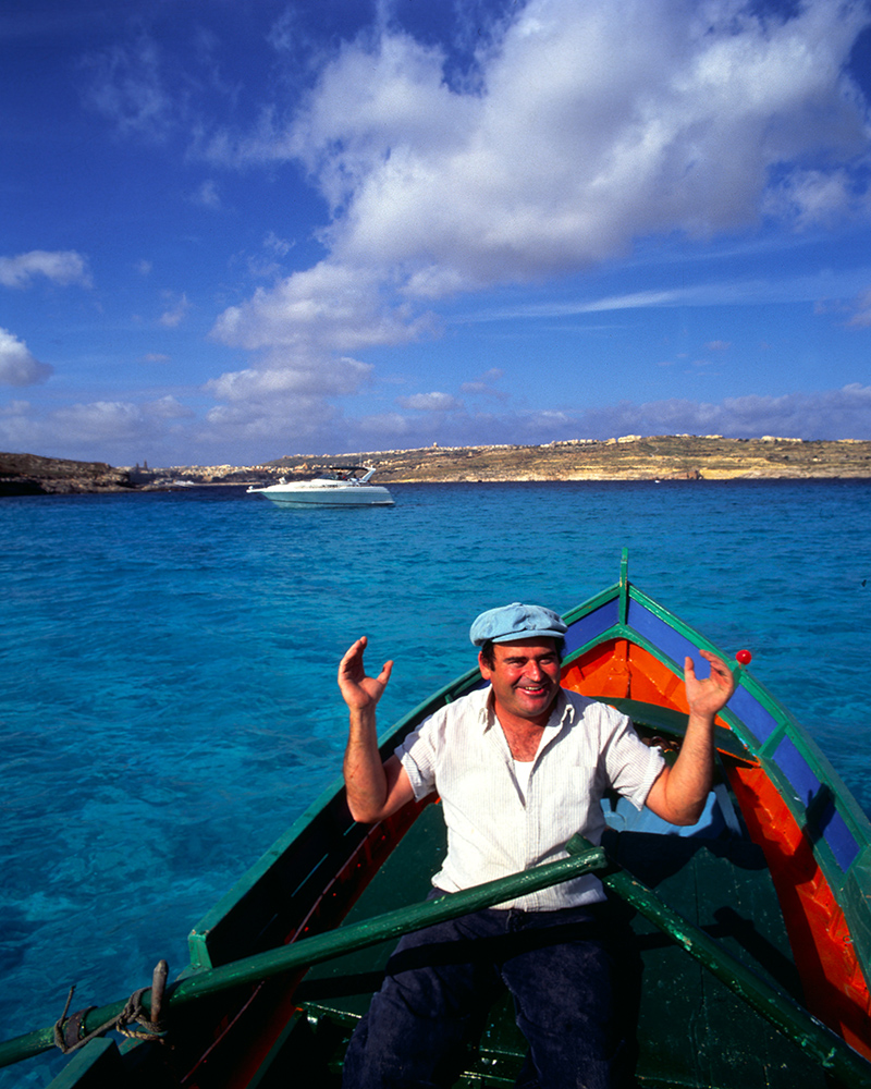 Local Fisherman in Gozo