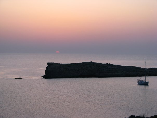 View From Comino by D Dalli