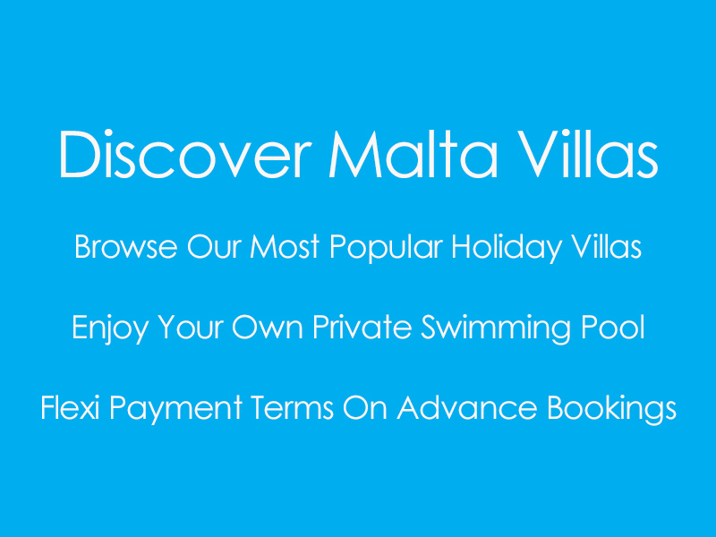 Browse All Malta Villas