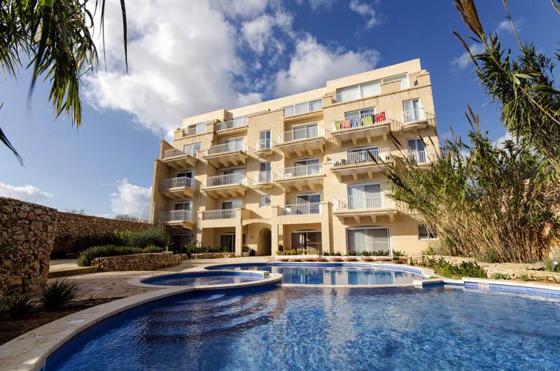 Swimming Pool : Yes Gozo Holiday Apartments R1067AP   Holiday Malta.com