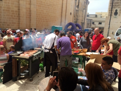 Mgarr Strawberry Festival 2015 - Food Stalls