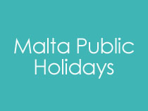 Public Holidays In Malta